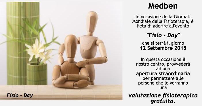 Consulti gratuiti nella Giornata Mondiale della Fisioterapia