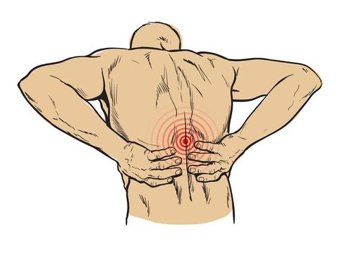 Il dolore in reparto cervicale di una spina dorsale anche dà alla mano sinistra