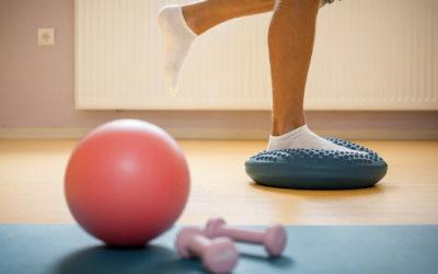 eseercizio terapeutico propriocettivo